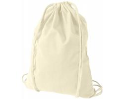 Kvalitní bavlněný batůžek LISPS se stahovací šňůrkou - přírodní