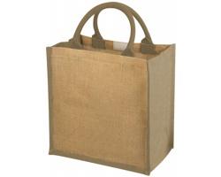 Pevná dárková taška NATURE z juty - přírodní