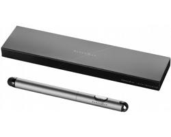 Kuličkové pero, stylus a laserové ukazovátko Marksman RADAR STYLUS BALLPOINT PEN - stříbrná