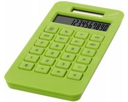 Ekologická solární kalkulačka POP z kukuřice - světle zelená