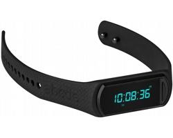 Plastové sportovní hodinky YALE se snímačem aktivity - černá