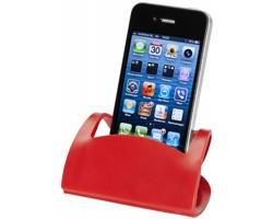 Skládací držák telefonu MAKOS - červená