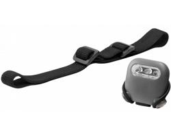 Multifunkční ultra jasná LED svítilna Elevate PIKA - šedá / černá