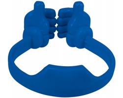Stojánek na chytrý telefon EAGER, design palců nahoru - královská modrá