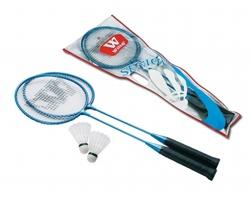 Sada na badminton RELAX s 2 raketami a košíčky