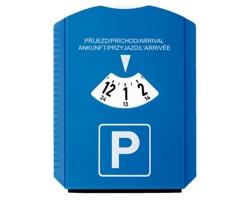 Parkovací hodiny LAURIEN se škrabkou - modrá