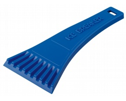 Plastová škrabka RIA do auta - modrá