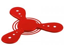 Plastový létající talíř ROTER - červená