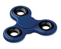 Plastový spinner SPIN pro odbourání stresu - tmavě modrá