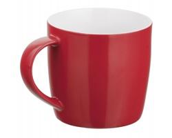 Keramický hrnek DURAN, 300ml - červená