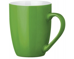 Keramický hrnek ESTEBAN, 300 ml - světle zelená