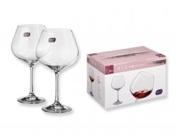 Sada sklenic na víno VINIUS, 570 ml - transparentní