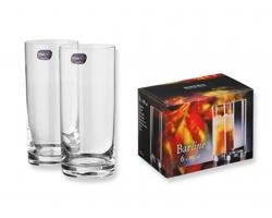 Sada 6 ks sklenic GLASSY, 300 ml - transparentní