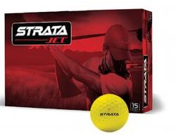 Golfové míčky Strata STRATA JET - žlutá