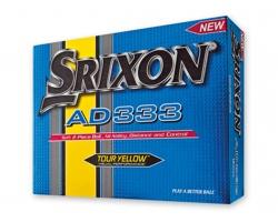 Golfové míčky Srixon SRIXON AD333 - žlutá