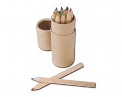 Dřevěné pastelky REMBRANDT v tubě, 12ks - 10