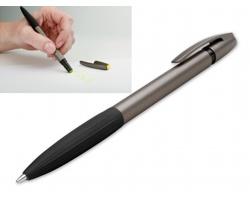 Kuličkové pero OREA METALIC se zvýrazňovačem - 33