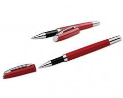 Kovové keramické pero LANDO ROLLER - červená