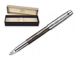 Kovové keramické pero Parker IM PREMIUM 5TH - šedá