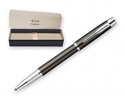 Kovové keramické pero Parker I.M. METAL s klipem - šedá