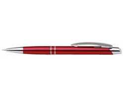 Kovová mechanická tužka Santini MARIETA METALIC PENCIL s klipem - červená