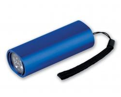 Kovová LED svítilna DUSK s poutkem - tmavě modrá