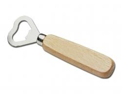 Dřevěný otvírák láhví HOLZ - chrom