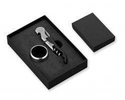Sada na víno GIL v dárkové krabičce - černá