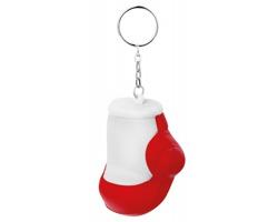 Přívěšek s antistresem BOXER ve tvaru boxerské rukavice - červená