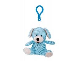 Plyšový přívěsek SNOOPY ve tvaru psa - světle modrá