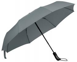 Skládací deštník CAMPANELA s obalem - šedá