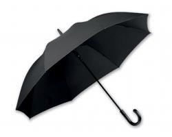 Klasický deštník Santini SILVAN - černá