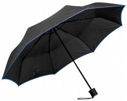 Skládací deštník RELLA s pouzdrem - modrá