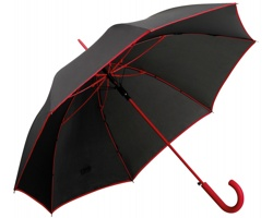 Vystřelovací deštník INVERZO - červená