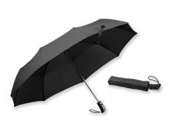Polyesterový větruodolný skládací deštník Santini GIANT - černá