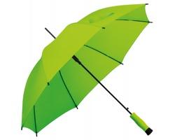 Polyesterový deštník DARNEL s automatickým otevíráním - reflexní zelená