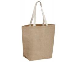 Jutová taška TIZZY - natural (přírodní)