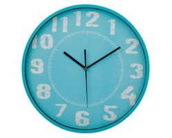 Nástěnné hodiny DESHI - modrá