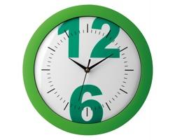 Nástěnné hodiny LARISA - zelená