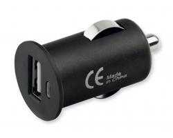 Plastový USB adaptér do auta CHARGE - černá