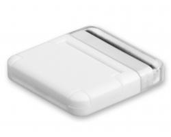 Stojánek na mobil MOBI s čističem na displej - bílá