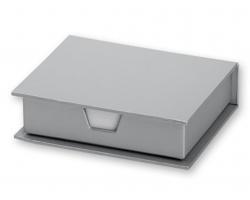 Set lepicích papírků MEMO v papírové krabičce, 264ks - stříbrná