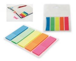 Barevné lepicí pásky MISU, 125 ks