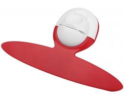 Plastový držák poznámek a pera NIFTY s magnetem - červená
