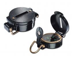 Kovový kompas ZIKMUND v pouzdru - černá