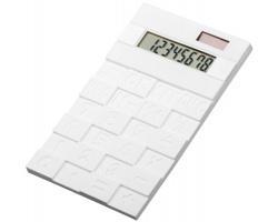 Pružná kalkulačka FUNIX - bílá