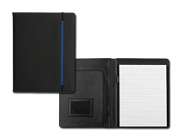 Konferenční desky CHAVIER, A4 s blokem - modrá