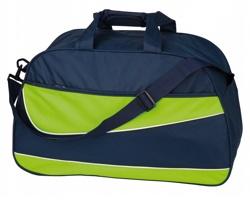 Sportovní taška BRANDON - reflexní zelená