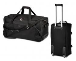 Cestovní taška na kolečkách Santini SIMEON - černá