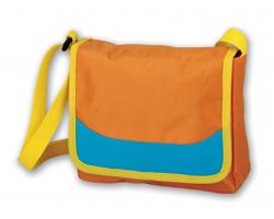 Dětská taška přes rameno KLIM - tmavě růžová